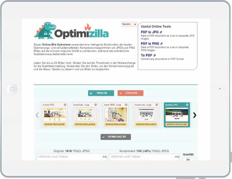 optimizilla-bilder-webtauglich-komprimieren-google-pagespeed